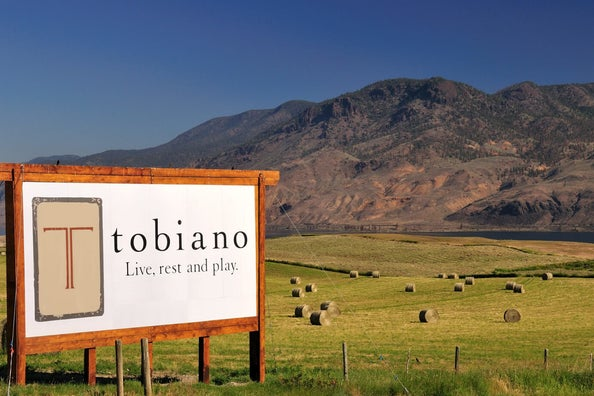 tobiano real estate sign